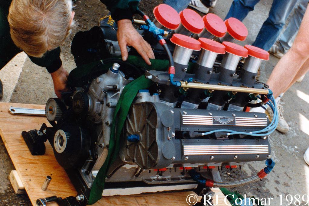 Aston Martin (Callaway) RDP87, Le Mans