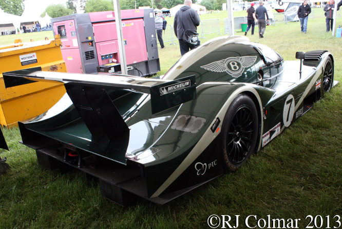 Bentley EXP Speed 8, Cholmondeley Pageant Of Power