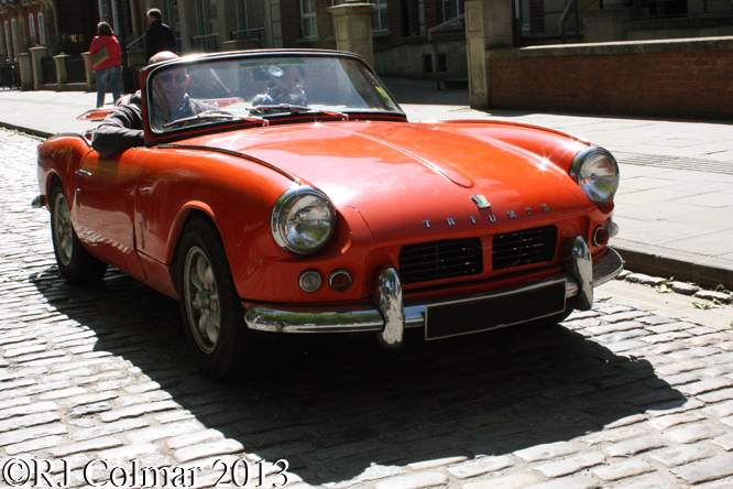 Triumph Spitfire Mk II, Avenue Drivers Club, Queen Square, Bristol