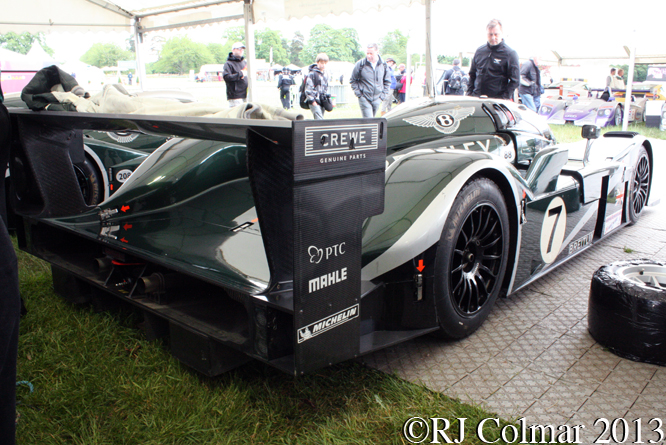 Bentley Speed 8, Cholmondeley Pageant Of Power