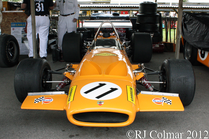 McLaren Ford M14A, Goodwood Revival