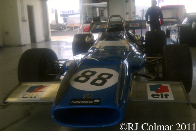 MATRA MS80, Silverstone Classic, Press Day