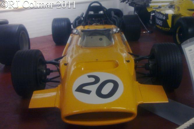 McLaren Ford M9A, Donington Park Museum