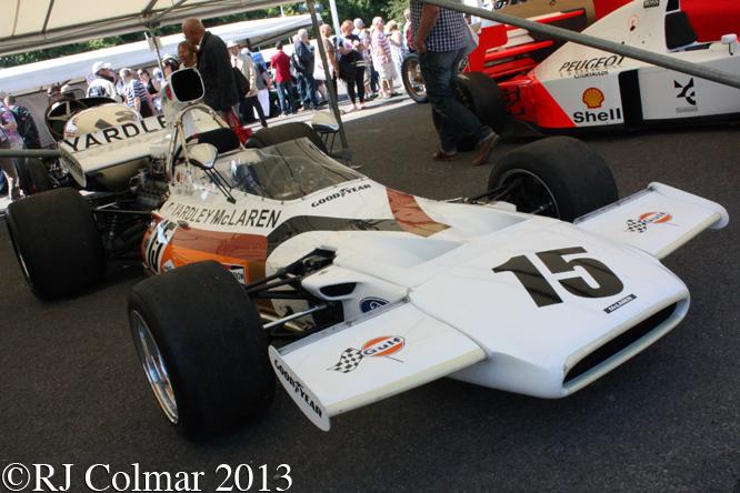 McLaren Cosworth M19C, Goodwood Festival Of Speed