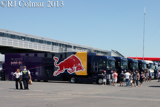 Red Bull Transporters, Young Driver Test, Silverstone