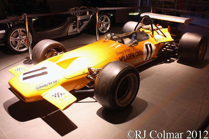McLaren Ford M14A, McLaren Manchester, Knutsford