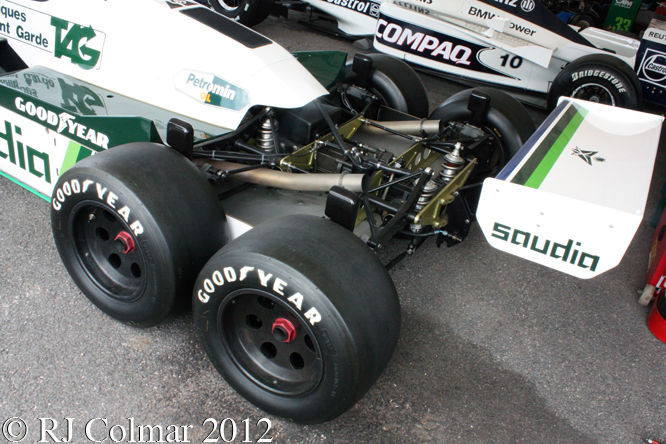 Williams, Cosworth, FW08B, Goodwood Festival of Speed