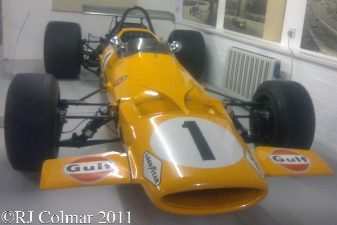 McLaren M7A, Donington Park Museum