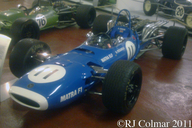 MATRA MS11, Donington Park Museum