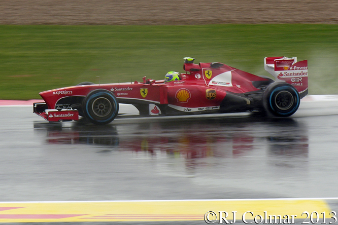 Massa , Ferrari, F138, British Grand Prix, P1, Silverstone