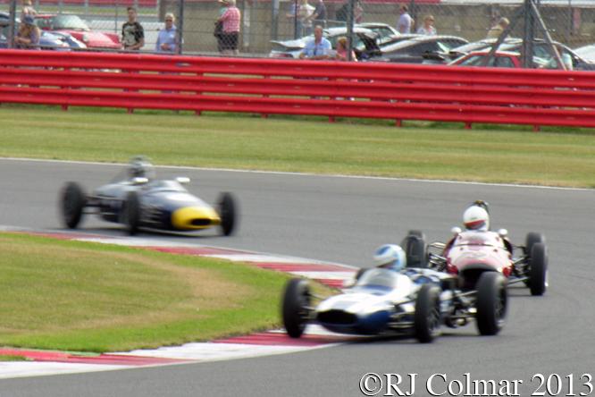 Wilson, Lotus 20/22, Hibberd, Lotus 22, Silverstone Classic
