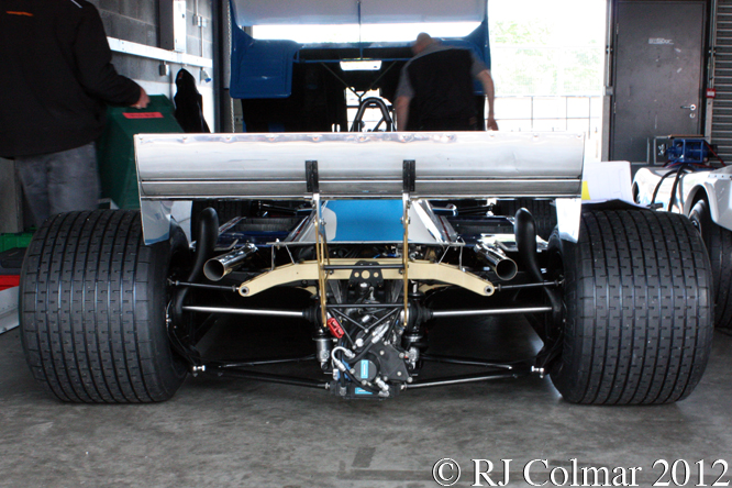 Ligier MATRA JS 17, Test Day, Donington Park