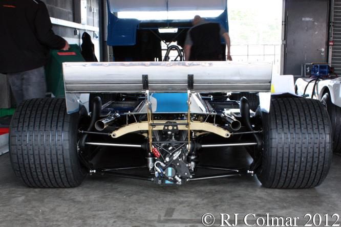 Ligier MATRA JS 17, Test Day, Donington Park