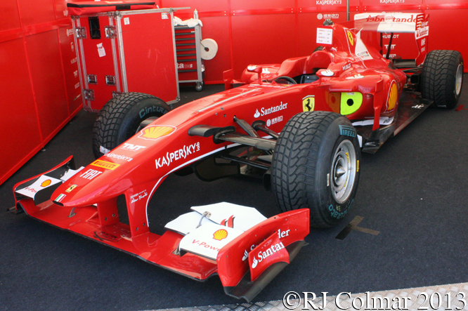 Ferrari F10, Goodwood Festival Of Speed