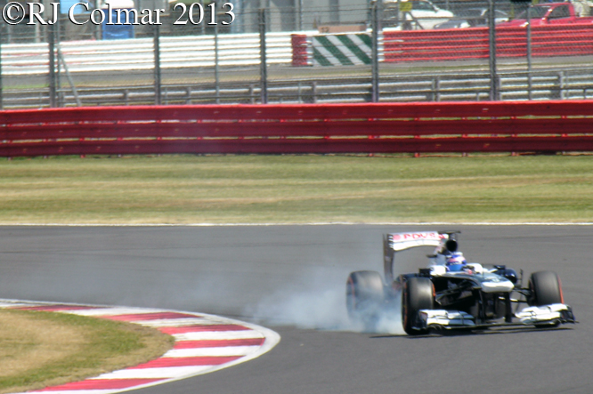 Wolff, Williams FW35, Young Driver Test, Silverstone