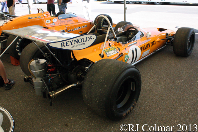 McLaren Ford M14A, Goodwood Festival Of Speed