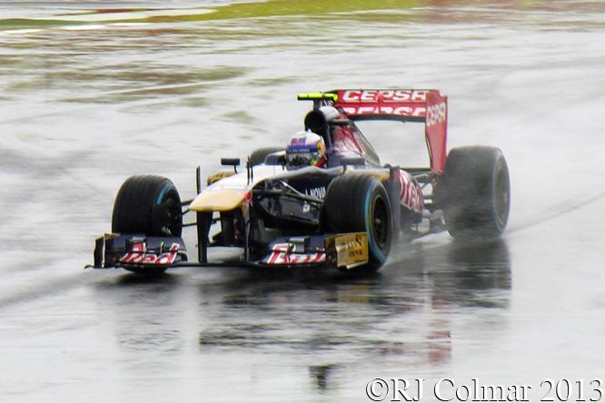 Ricciardo, Torro Rosso Ferrari, STR8, British Grand Prix, P1, Silverstone