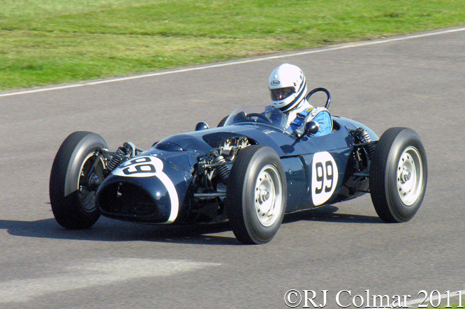 Rolt, Fergusson P99, Richmond Trophy, Goodwood Revival