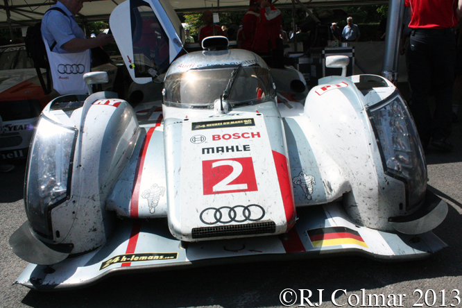 Audi R18 E-tron Quattro, Goodwood, Festival Of Speed