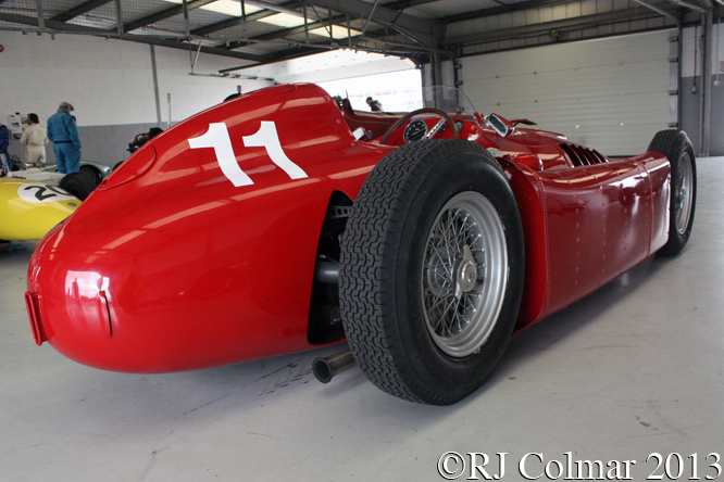 Lancia D50 Replica, HGPCA Test day, Silverstone