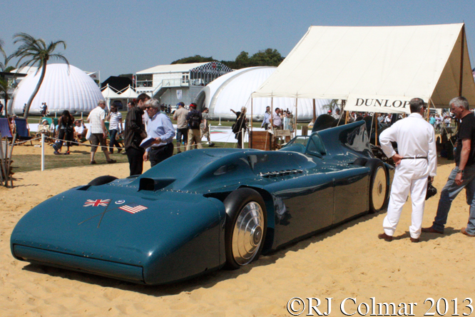 Campbell-Railton Blue Bird, Goodwood Festival Of Speed