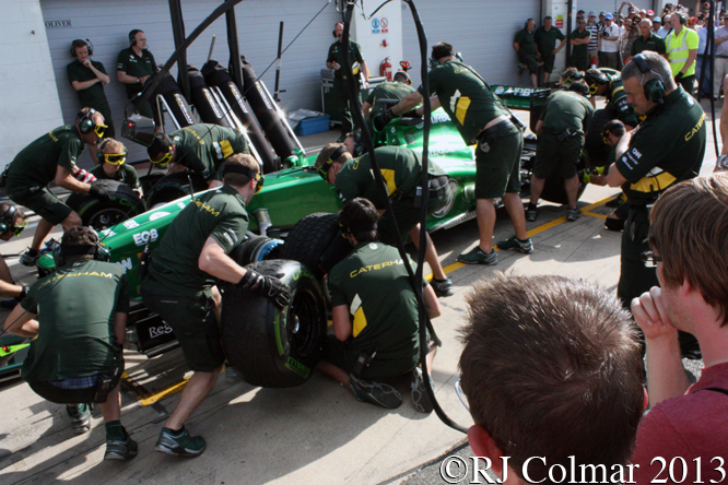 Caterham CT03, Young Driver Test, Silverstone