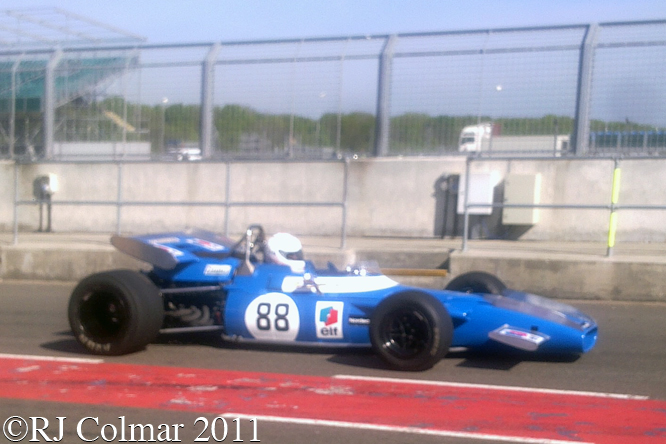 Maydon, MATRA MS80, Silverstone Classic, Press Day