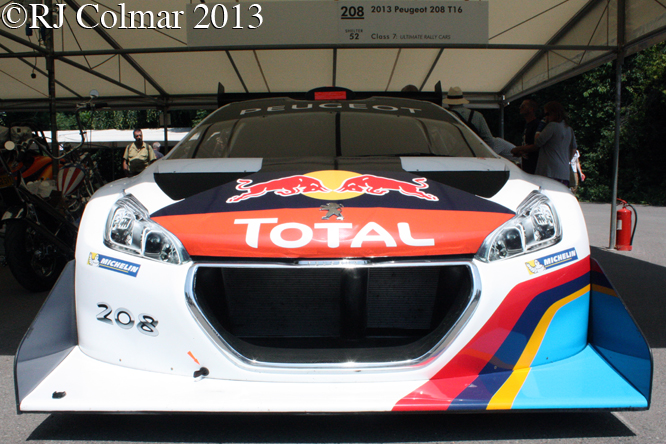 Peugeot 208 T16, Goodwood Festival Of Speed
