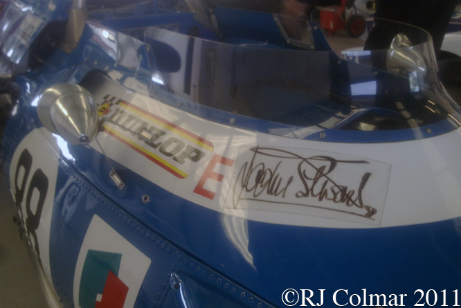 MATRA MS80, Silverstone Classic, Press Day