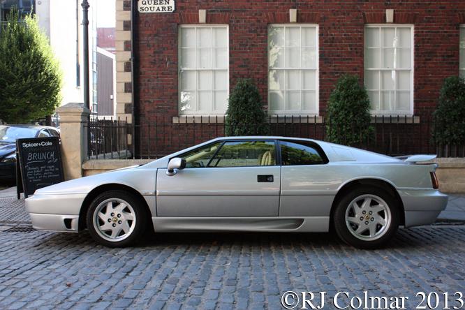 Lotus Esprit, Avenue Drivers Club, Queen Square, Bristol