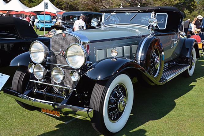 Cadillac V16,Hillsborough Concours d'Elegance