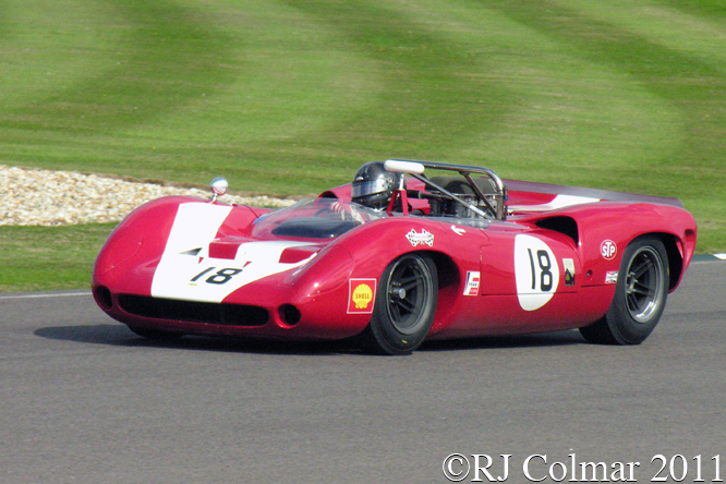 Knapfield, Lola T70, Goodwood Revival