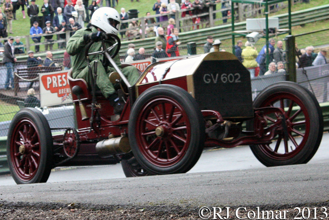 Collings, Mercedes Simplex 60 HP, VSCC Prescott