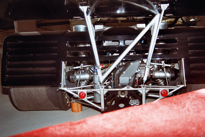 Shadow Chevrolet DN2,  Rosso Bianco Collection,