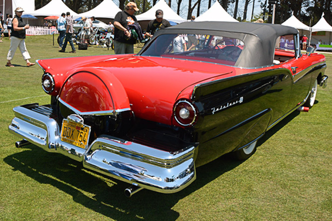 Ford 500 Sunliner, Hillsborough Concours d'Elegance