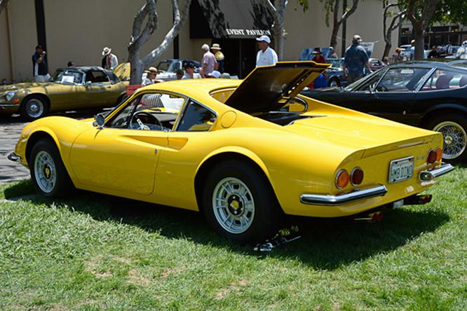 Ferrari Dino 246 GT, Palo Alto Concours d'Elegance