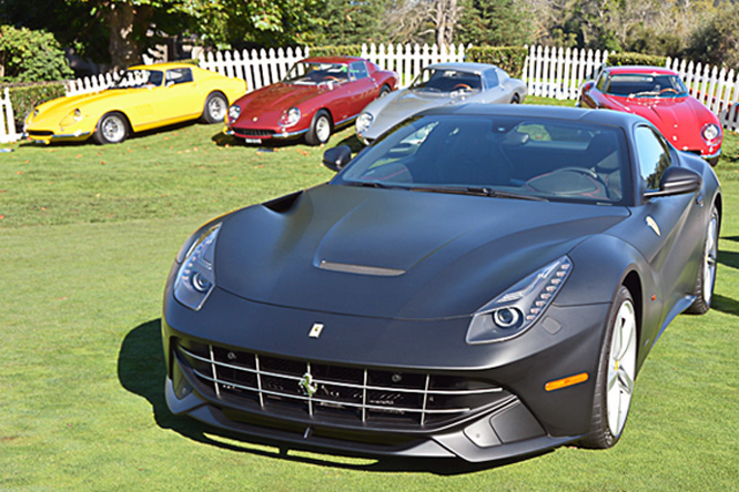 Ferrari F12berlinetta, The Great Ferraris, The Quail