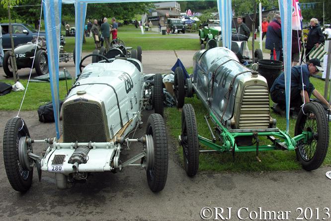 Halford Special, Aston Martin, Razor Blade, Prescott