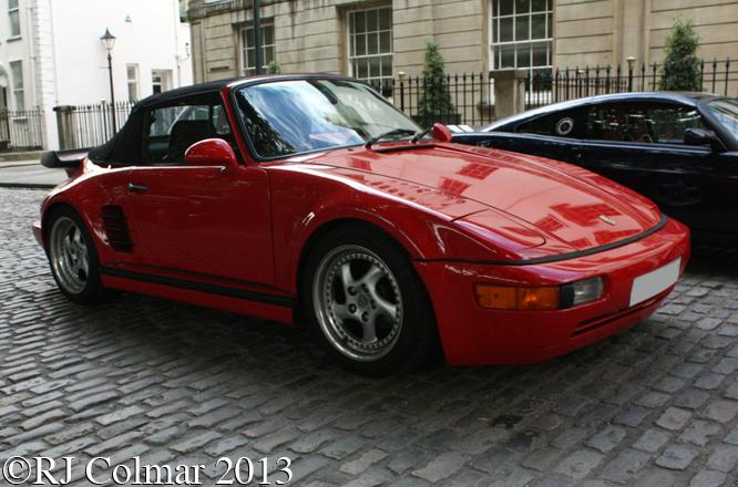 Porsche, 911, Cabriolet, Flachbau, Avenue Drivers Club, Queen Square, Bristol
