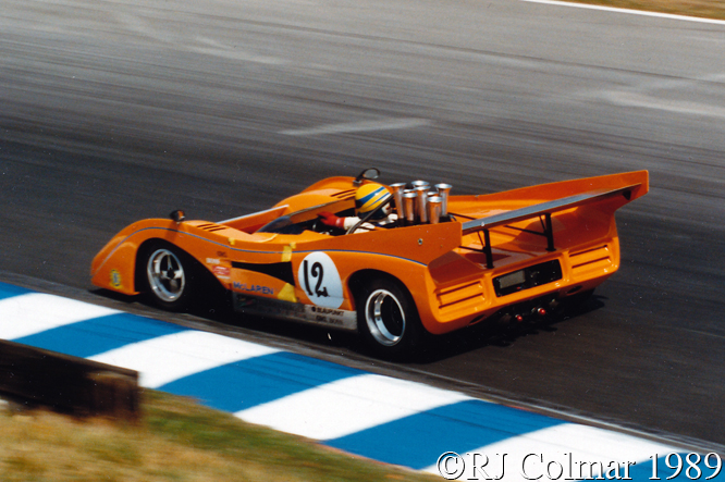 Agg, McLaren Chevrolet M8F, Brands Hatch