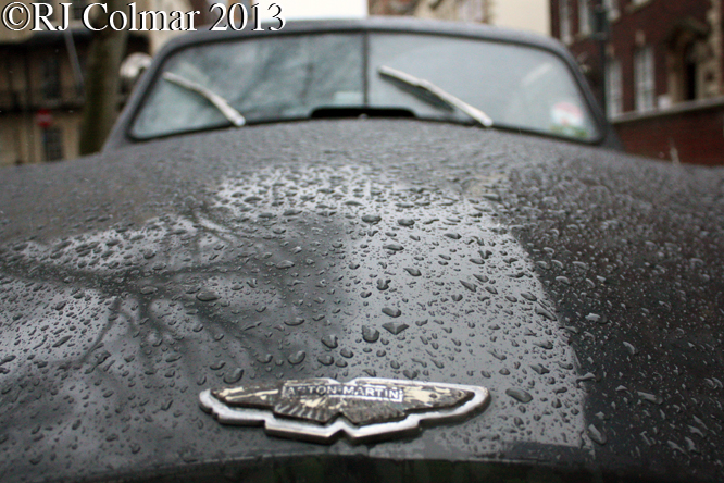 Aston Martin DB2, Avenue Drivers Club, Queen Square, Bristol