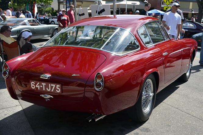 Aston Martin DB2/4 Serafino, Danville, Concours d'Elegance