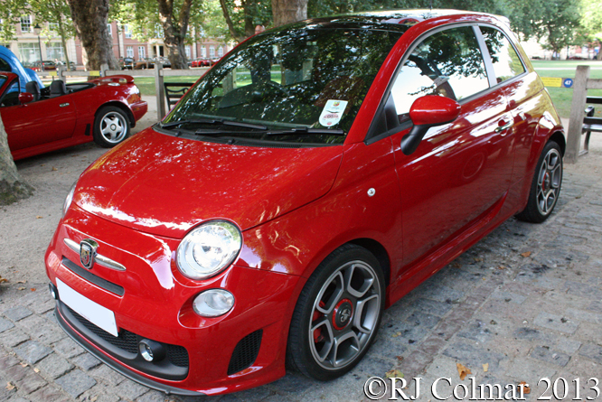 Abarth, 500, Avenue Drivers Club, Queen Sq, Bristol