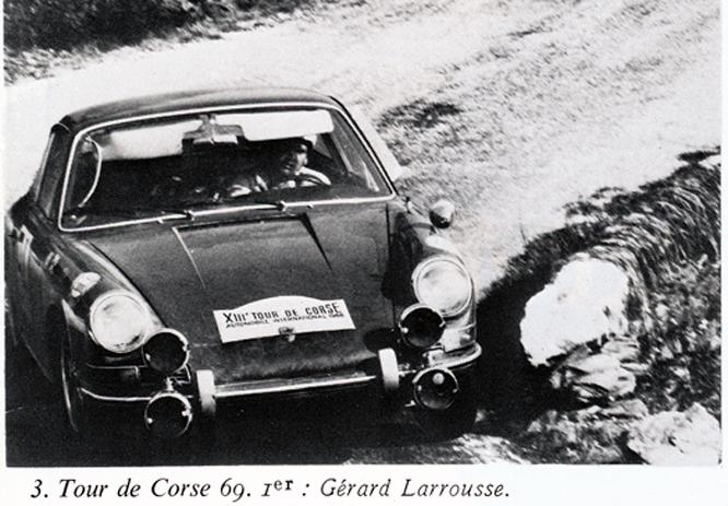 Porsche, Tour de Corse, Dunlop SP Sport, Advertisement, Connaissance des art
