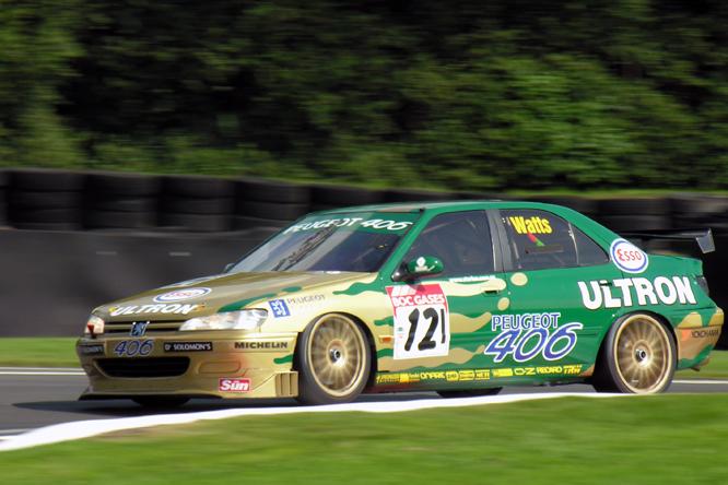 Watts, Peugeot 406, Gold Cup, Oulton Park