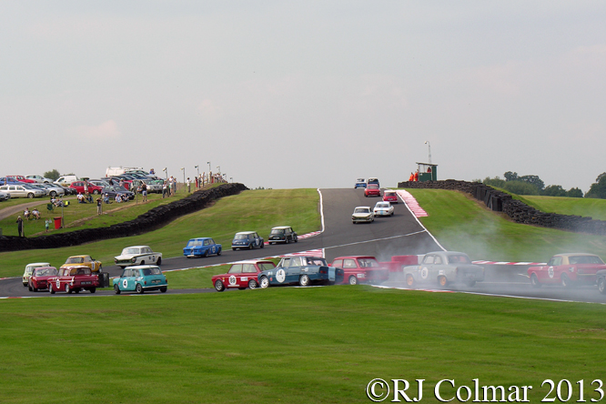 Historic Touring Cars, Gold Cup, Oulton Park