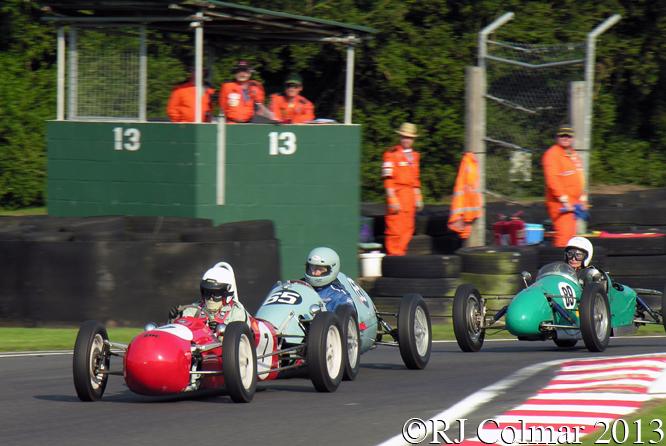 Challis, Petty, de la Roche, Smith Buckler, Monro, Cooper, Gold Cup, Oulton Park