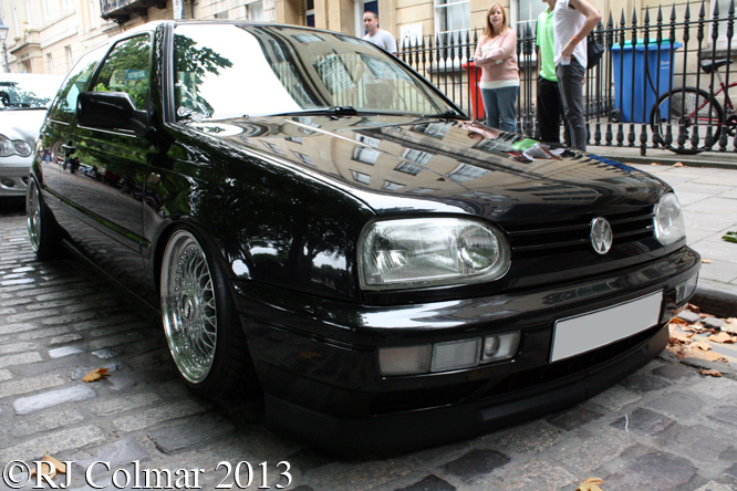 VW Golf VR6 MkIII, Avenue Drivers Club, Queen Sq, Bristol