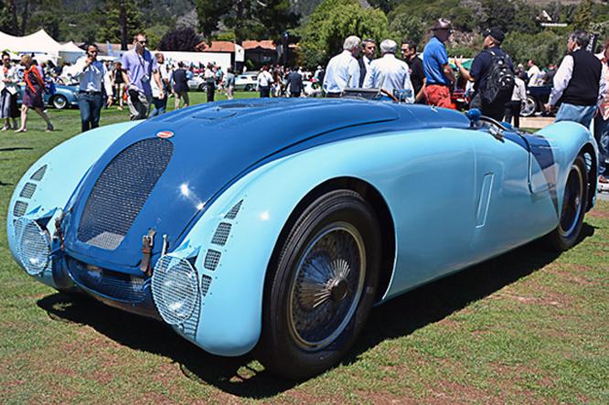 Bugatti Type 57G, The Quail
