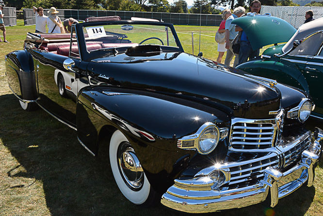 Lincoln Continental Cabriolet, The Quail